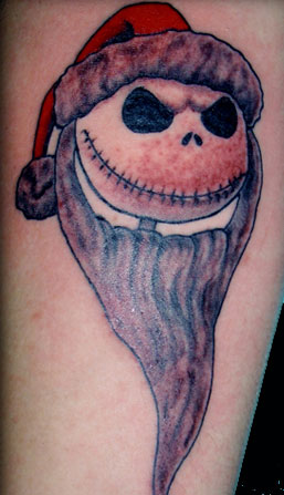 Nightmare before Christmas Tattoo Jack Skellington